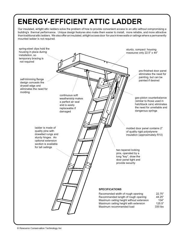 6 best attic ladders peallg29822