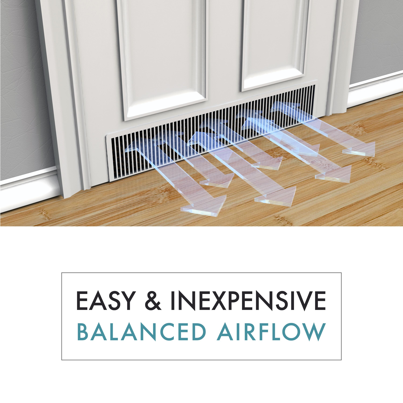 0083803700410_AV1  sc 1 st  Positive Energy & Tamarack | In-door | Pressure balancing | RAP | Door Vent | DIY | HVAC